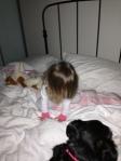 making mumma's bed 1