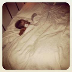 mumma's bed 10pm
