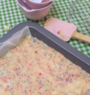 cake batter fudge 3