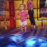 jumping castle - who is this big girl