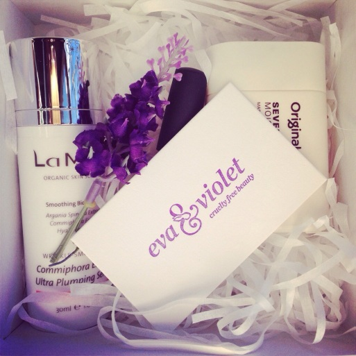 eva & violet cruelty free beauty launch gift