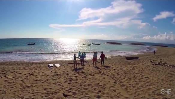 SHE surfs - Bali 1