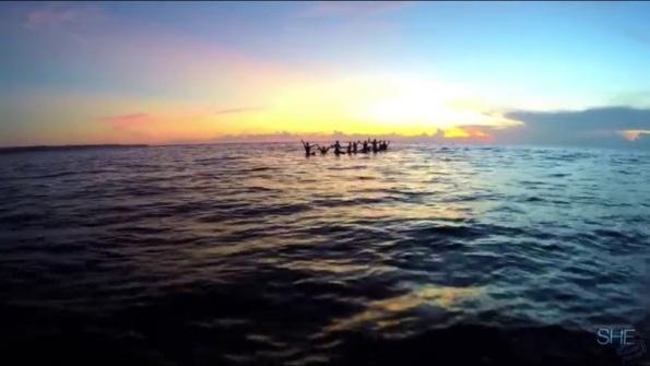 SHE surfs - Bali 3
