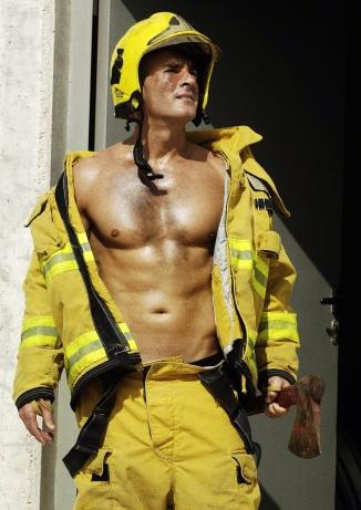 not the actual fireman