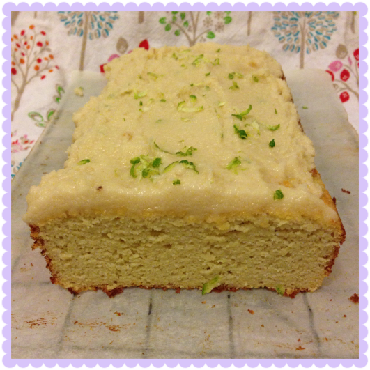 Tasty Tuesday {coconut lime pound cake}