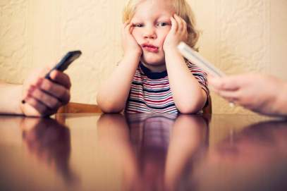 No screen time ... for parents