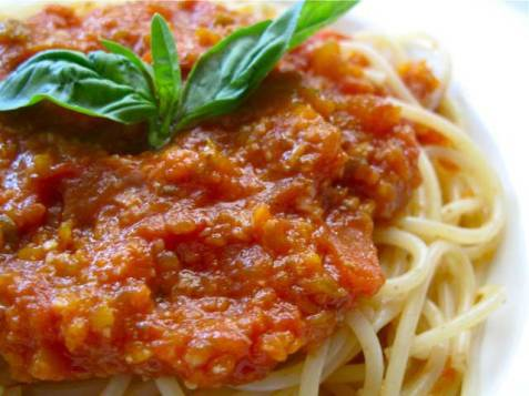 Tasty Tuesday {vegetarian bolognese}