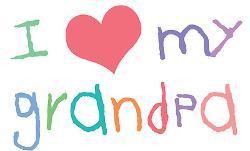 i love my grandpa