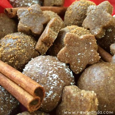 Tasty Tuesday {raw gingerbread cookies + balls}