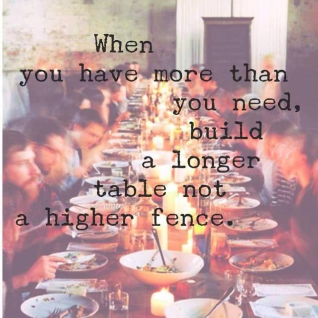 Tasty Tuesday {build a longer table}