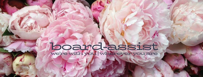 board-assist facebook cover logo with byline ~ 1 march 2018