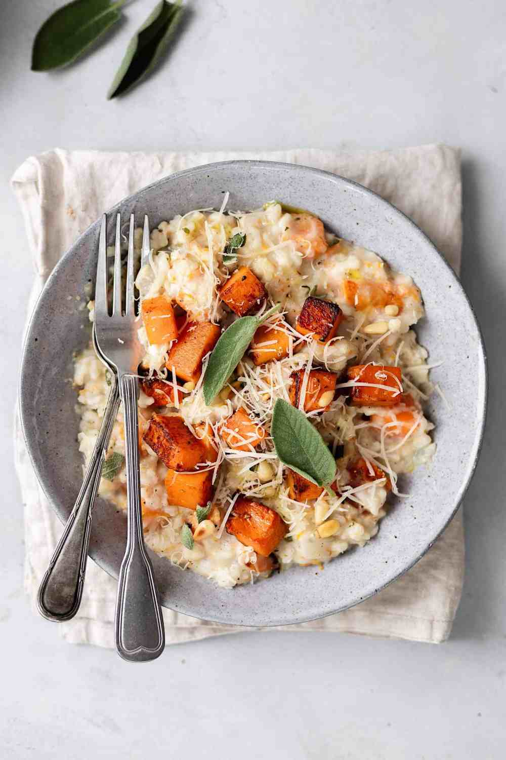 11 of 31 roast butternut squash and sage risotto