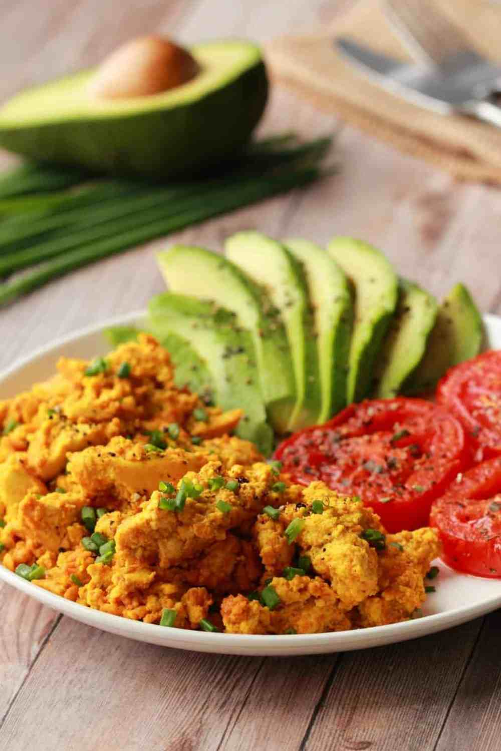 13 of 31 vegan tofu scramble
