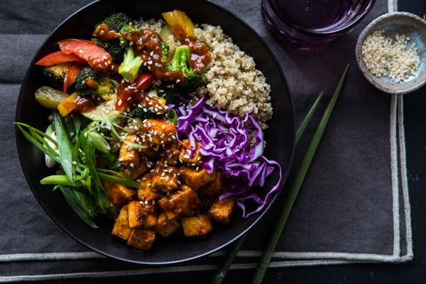 16 of 31 korean bbq tofu bowl